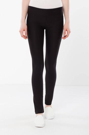 Push-up leggings, Black, hi-res