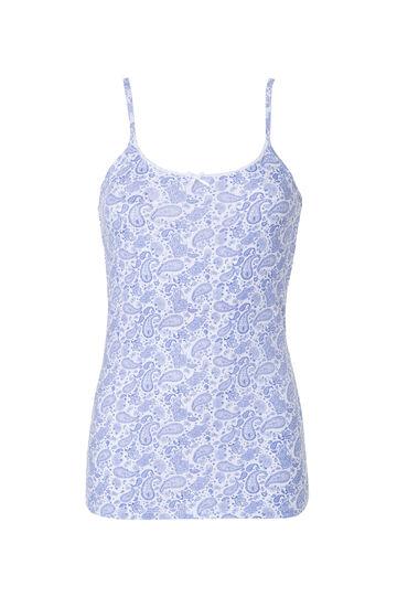Paisley print vest