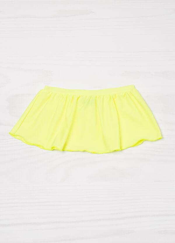 Plain stretch swim skirt | OVS