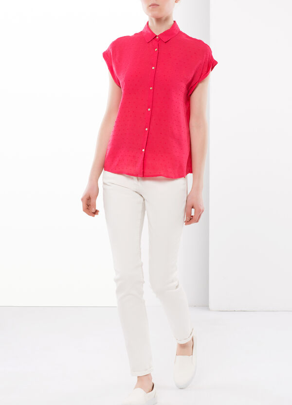 Shirt with relief   OVS