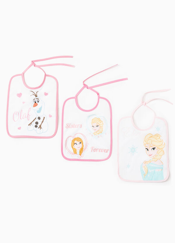 Three-pack cotton Frozen bibs | OVS