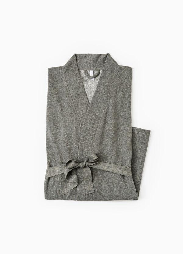 Cotton lurex blend robe | OVS