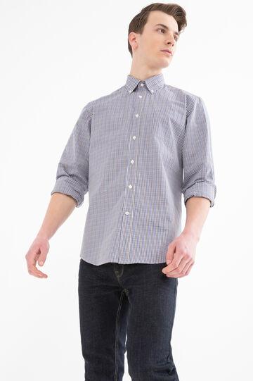 Camicia regular fit micro quadri