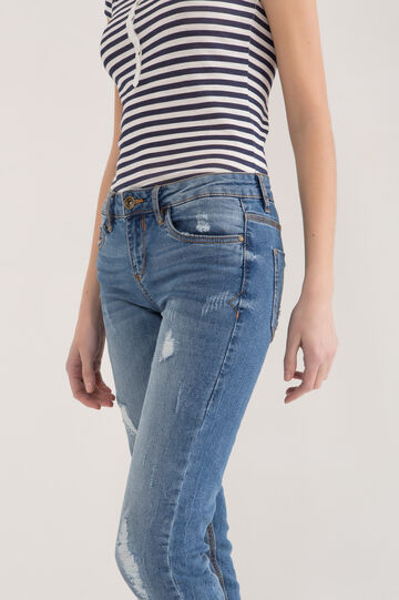 Jeans stretch slim fit, Lavaggio medio, hi-res