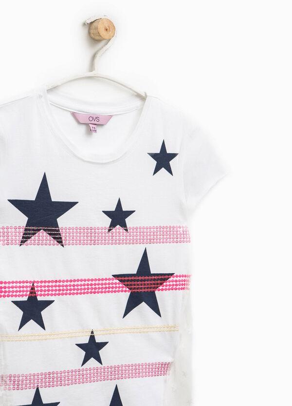Raw cut tulle T-shirt | OVS