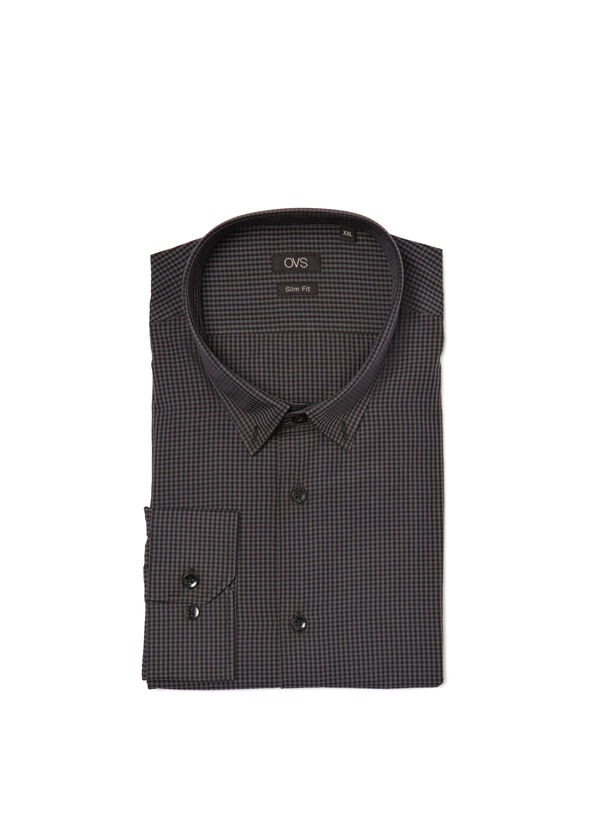 Easy-iron, check shirt | OVS