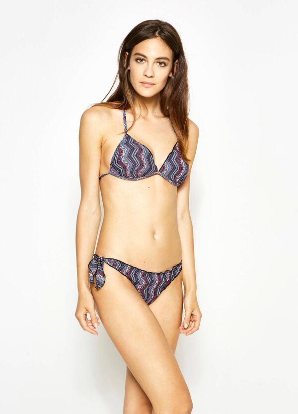 Stretch triangle bikini bra | OVS