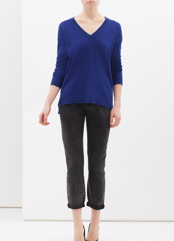 Cashmere and silk blend pullover | OVS