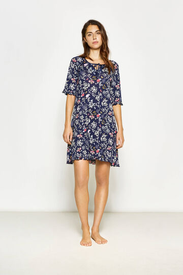 Floral patterned nightshirt