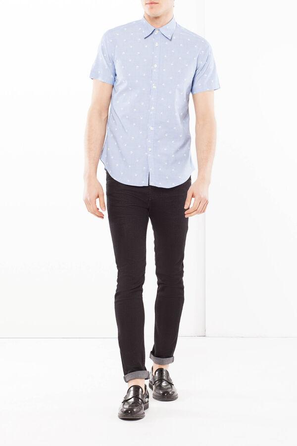 Cotton shirt with a print G&H   OVS