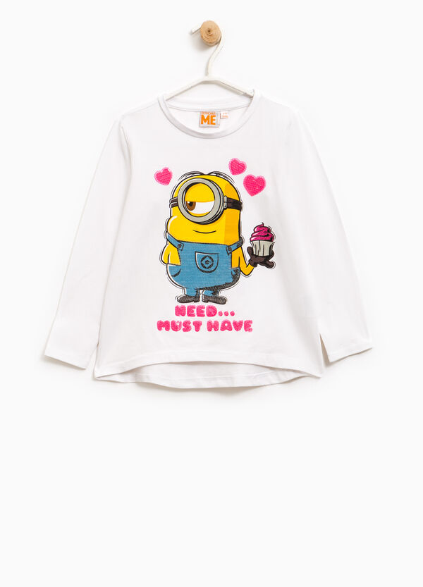 Minions T-shirt with sequins | OVS