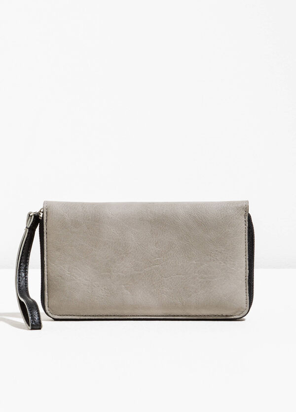 Wallet with contrasting trim | OVS