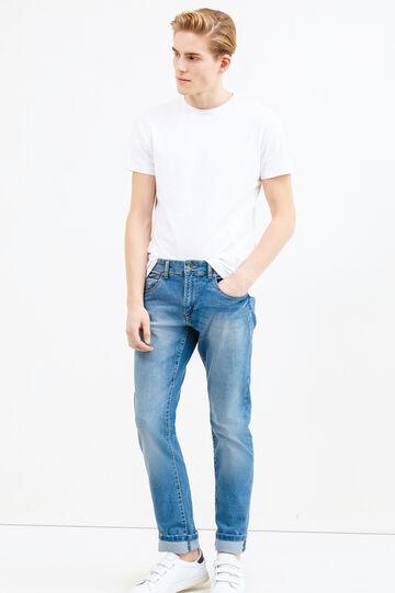 Straight-fit stretch jeans, Denim, hi-res
