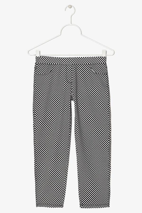 Pantaloni stretch a pois | OVS