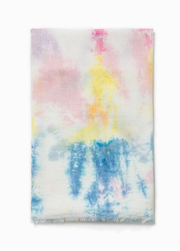 Patterned cotton scarf | OVS
