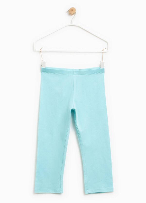 Stretch cotton leggings   OVS