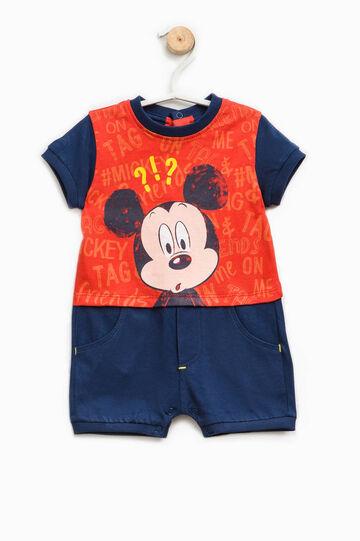 Pelele de algodón con estampado de Mickey Mouse