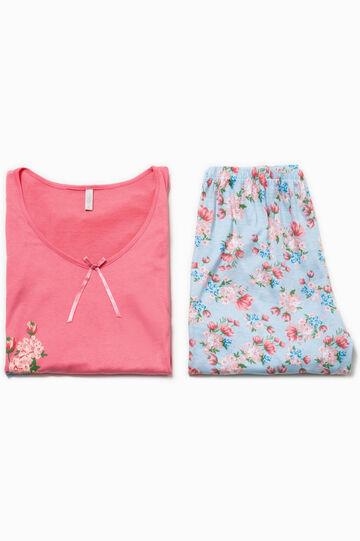 Floral top and shorts pyjama set