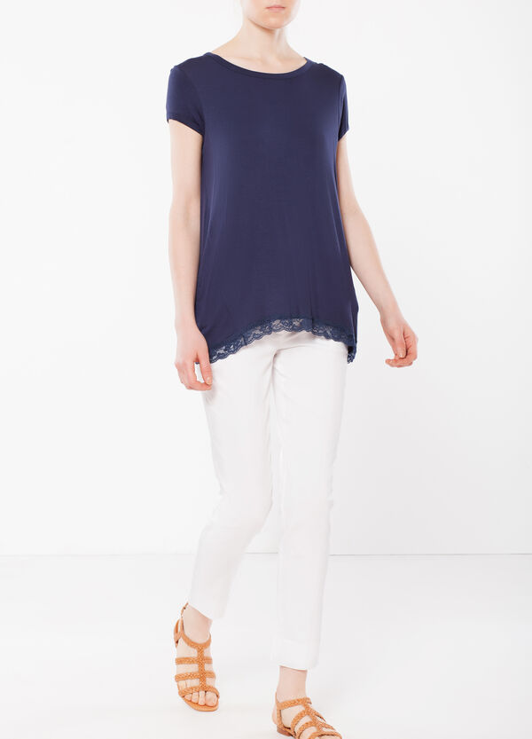 T-shirt con pinces | OVS