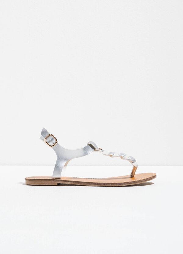 Sandali con tomaia a fascia intrecciata | OVS