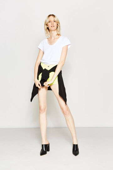 High waist stretch shorts
