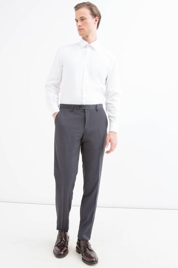 Trousers in stretch viscose blend | OVS