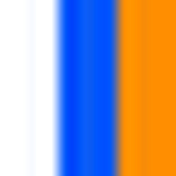 Two-pair pack embroidered and striped socks, White/Blue/Orange, swatch
