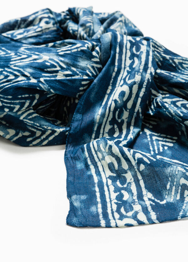 Scarf with ethnic pattern | OVS