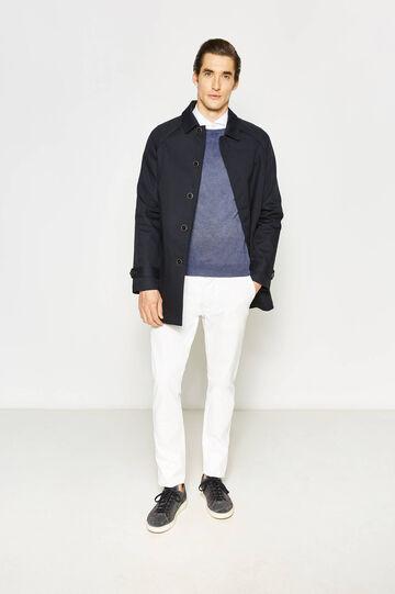 Cappotto Rumford in cotone, Blu navy, hi-res