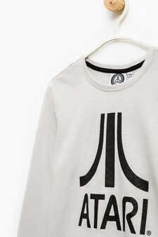 Printed T-shirt in 100% cotton, Ice White, hi-res