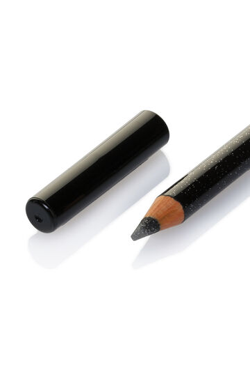 Glitter eye pencil, Black, hi-res