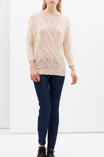 Multicolour knitted sweater, Multicolour, hi-res