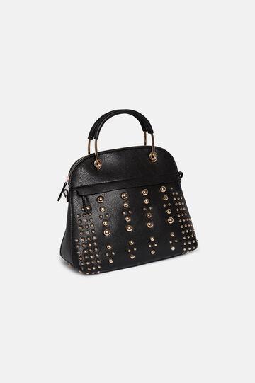 Trunk bag with studs, Black, hi-res
