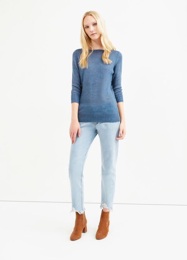 Knitted mohair wool and viscose pullover   OVS
