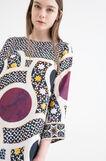 Dress OVS Arts of Italy, Salerno Dome, Milky White, hi-res