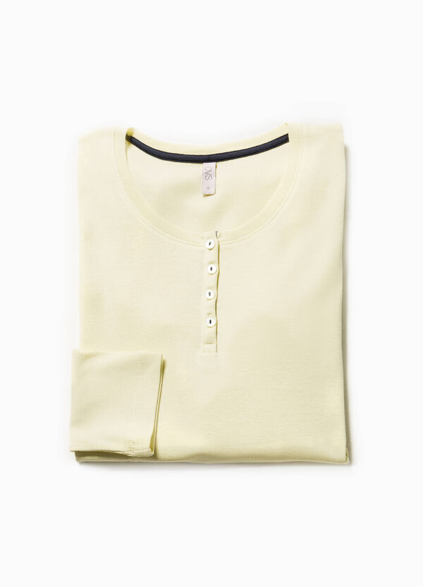 Solid colour pyjama top in 100% cotton | OVS