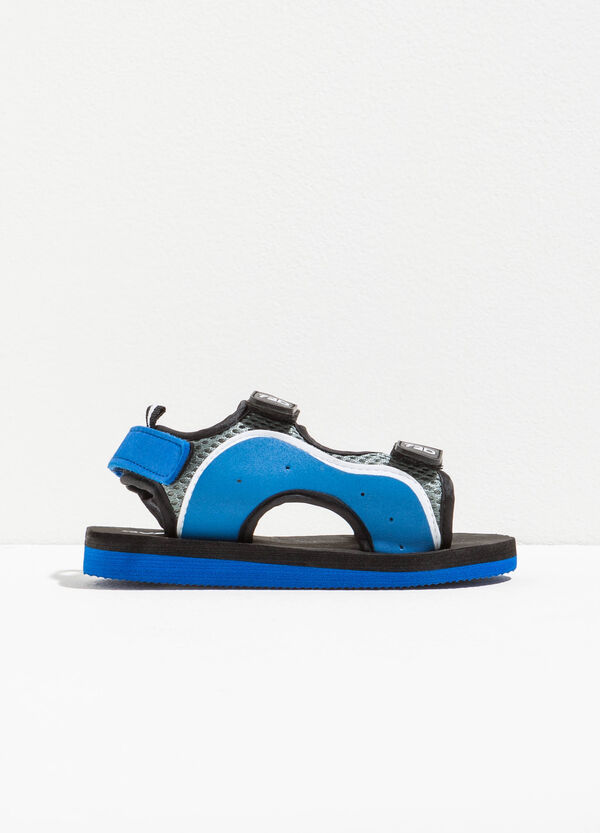 Two-tone sandals with straps | OVS