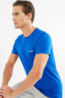 OVS Active Sport Training T-shirt, Cornflower Blue, hi-res