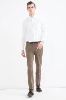 Rumford stretch trousers, Khaki, hi-res