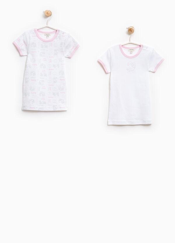 Set due t-shirt intime puro cotone   OVS