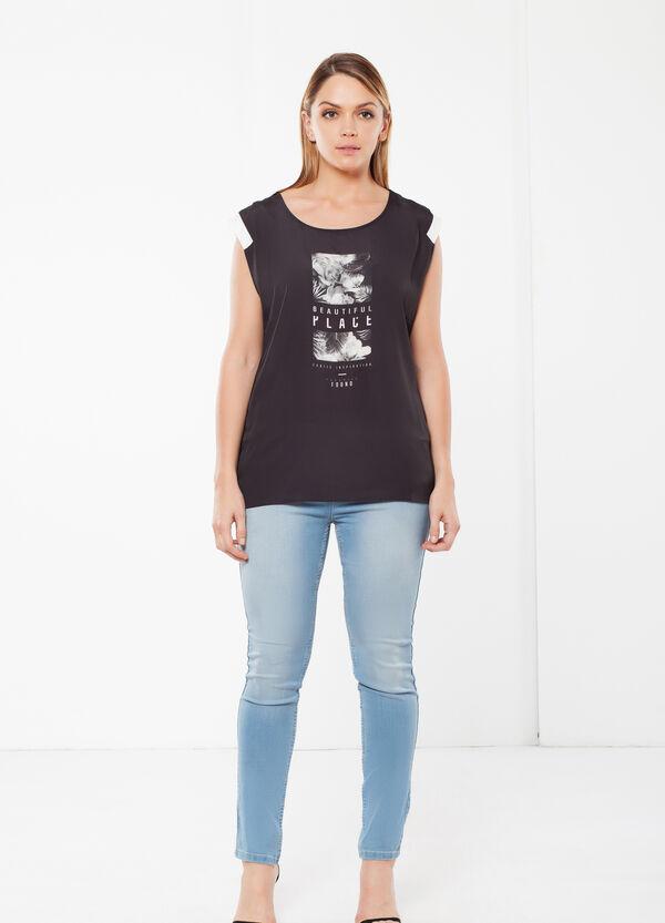 T-shirt Curvyglam smanicata | OVS