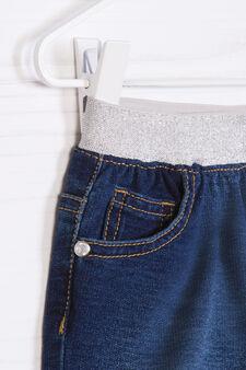 Stretch denim shorts, Dark Wash, hi-res