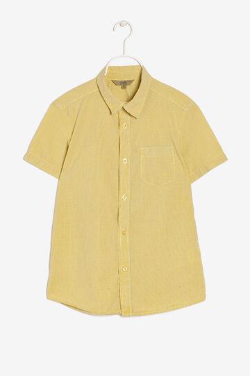 Camicia con taschino, Giallo mais, hi-res