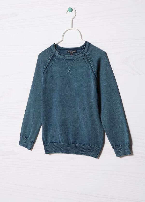 Pullover puro cotone tricot | OVS