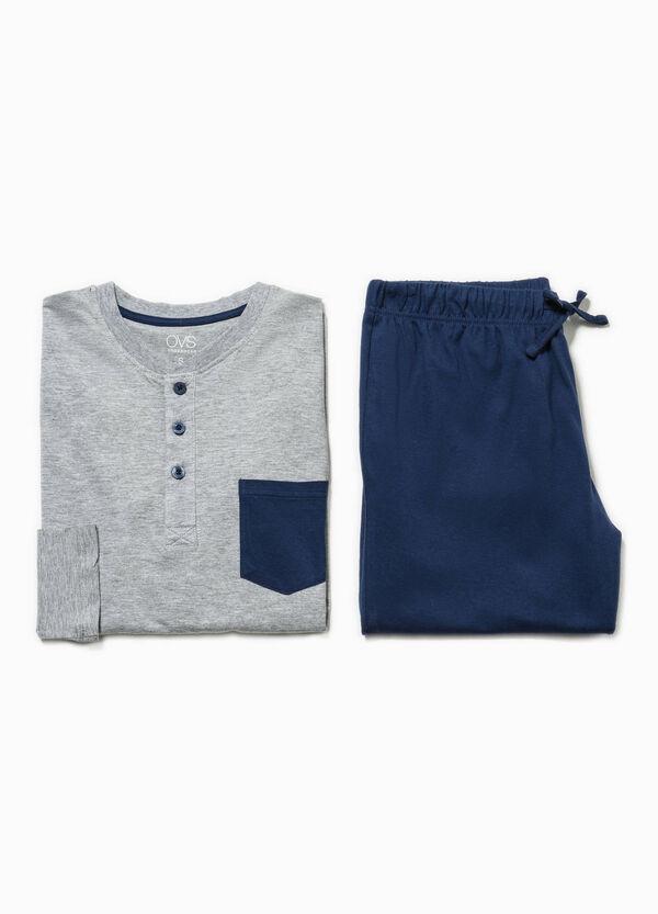 Solid colour cotton pyjamas | OVS