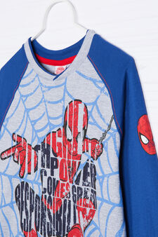 100% cotton Spiderman pyjamas, Grey Marl, hi-res
