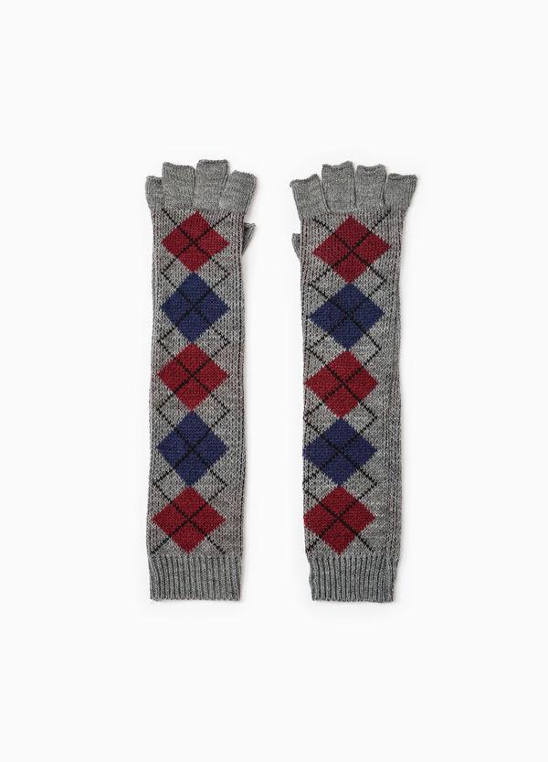 Long fingerless embroidered gloves   OVS
