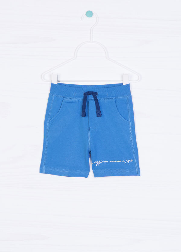 Cotton shorts with drawstring | OVS