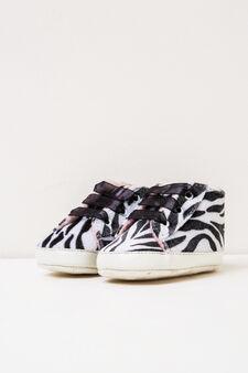 Animal print high sneakers, Multicolour, hi-res