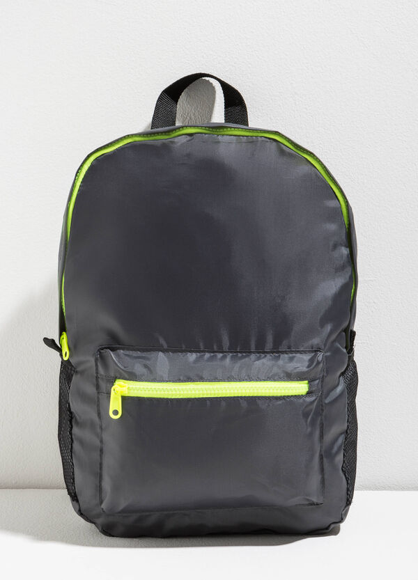 Backpack with zip in contrasting colour | OVS
